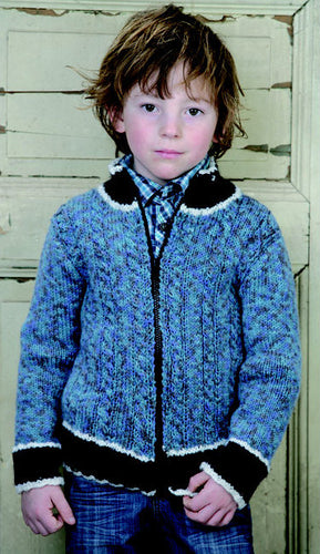 Adriafil Pattern: Boy's Jacket in New Zealand