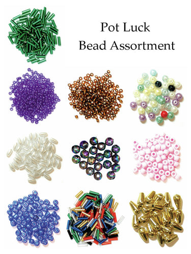Pot Luck Assortment: 10 Packs of Beads