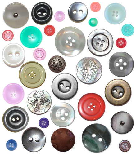 Pot Luck Assortment: 50 Rowan Buttons