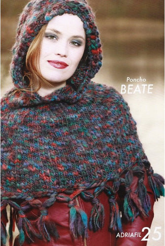Adriafil Pattern: Beate Poncho in Baba