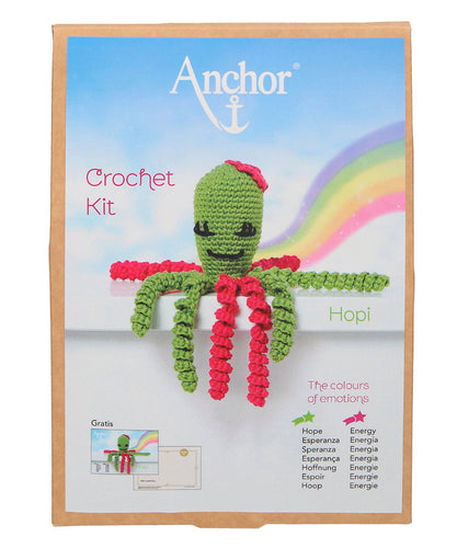 Anchor Crochet Kit: Hopi Octopus