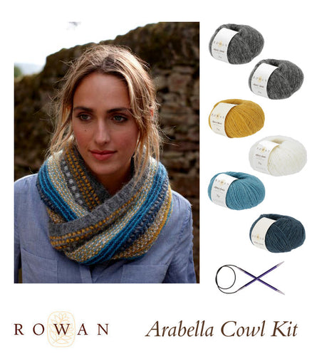 Rowan Arabella Cowl Kit