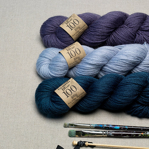 Erika Knight British Blue 100 (100g hank)