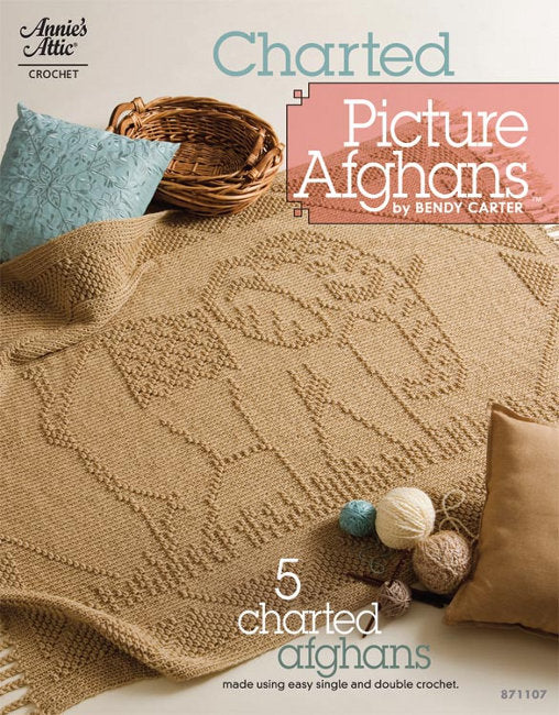 Charted Picture Afghans by Bendy Carter