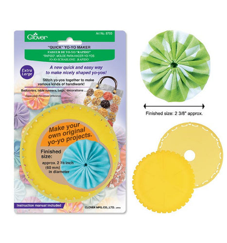 Clover Quick Yo-Yo Maker: CL8703 Extra Large