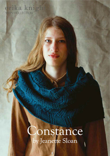 Erika Knight Pattern: Constance in British Blue 100