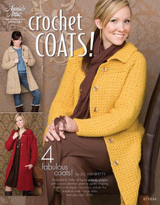 Crochet Coats! by Jill Hanratty