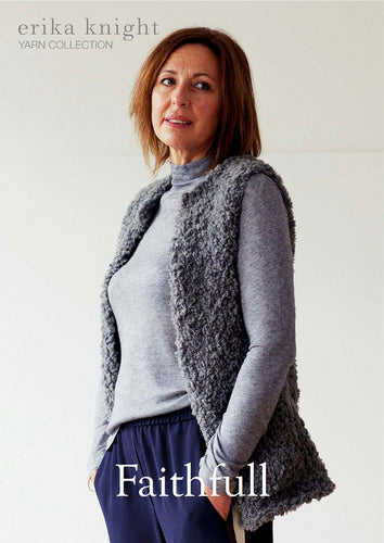 Erika Knight Pattern 1112: Faithfull in Fur