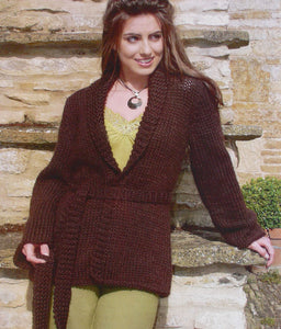 Freedom Pattern 9026: Belted Jacket in Freedom Wool