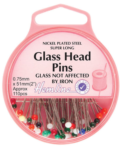 Hemline H679: Glass Head Pins