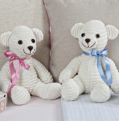 Twilleys Crochet Kit 2898/1001: Cream Bear