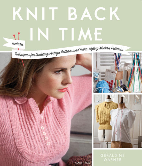 Knit Back in Time by Geraldine Warner