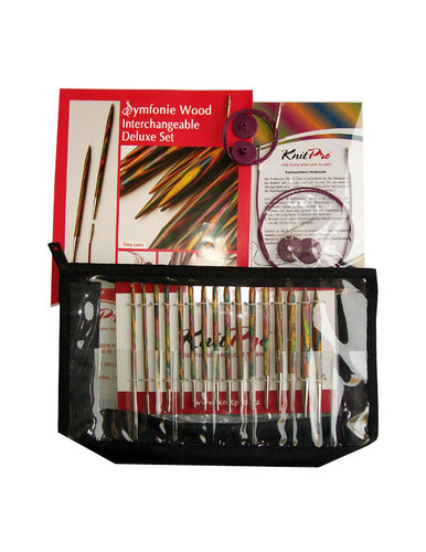 KP20613 KnitPro Symfonie Interchangeable Needle Deluxe Set