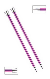 KP47338 Zing 40cm Single Pointed Knitting Needles: 10mm