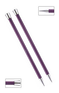 KP47339 Zing 40cm Single Pointed Knitting Needles: 12mm