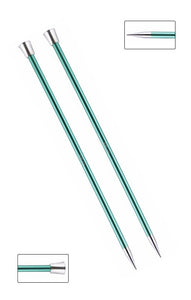 KP47336 Zing 40cm Single Pointed Knitting Needles: 8mm