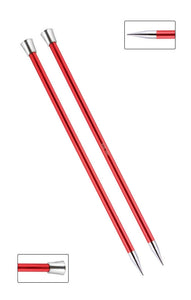 KP47337 Zing 40cm Single Pointed Knitting Needles: 9mm