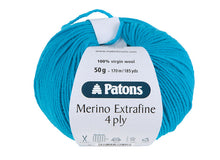 Load image into Gallery viewer, Patons Merino Extrafine 4 Ply