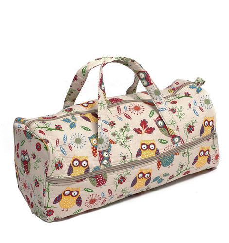 Knitting and Craft Bag MR4698\29: Owl Print