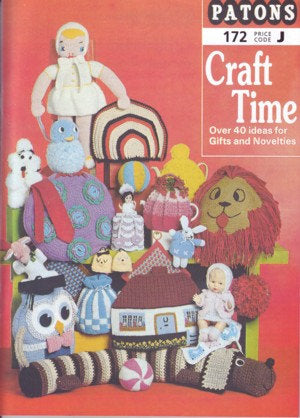 Patons Booklet 172: Craft Time