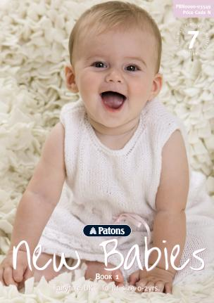 Patons Booklet 3549: New Babies