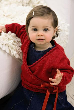 Patons Pattern 3620: Wrap Cardigan in Fairytale 4 ply