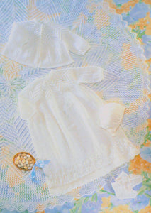 Patons Pattern 5337: Baby Christening Layette in 4 ply