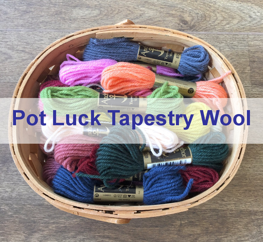 Pot Luck Assortment: 30 Skeins of Anchor Tapestry Wool