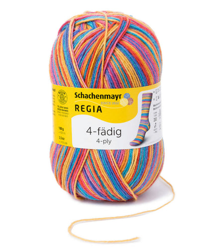 Regia 4 Ply Colour 100g