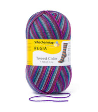 Load image into Gallery viewer, Regia Tweed Colour 4 Ply 100g