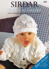 Sirdar Booklet 269: Babies in Crochet