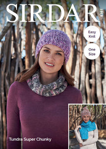 Sirdar Pattern 8161: Accessories in Tundra Super Chunky
