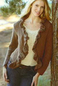 Sirdar Pattern 8741: Cardigan in Click