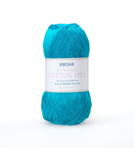 Sirdar Cotton 4 Ply 100g
