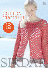 Load image into Gallery viewer, Sirdar Booklet 499: Cotton Crochet