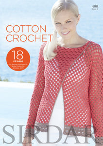 Sirdar Booklet 499: Cotton Crochet