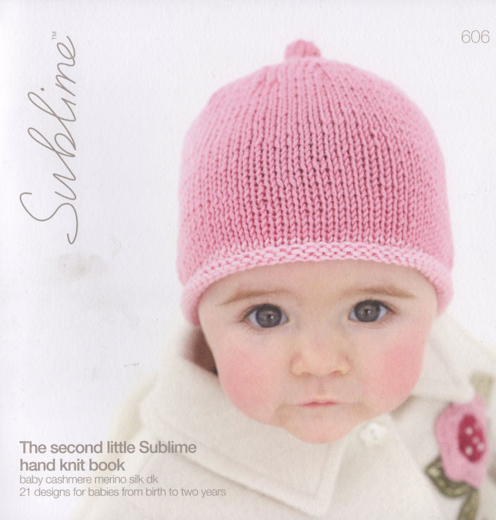 Sublime Booklet 606: 2nd Baby Cashmere Merino Silk DK Book