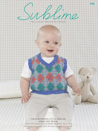 Sublime Booklet 696: 18th Baby Cashmere Merino Silk DK Book