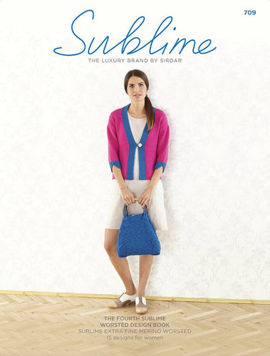 Sublime Booklet 709: The 4th Extra Fine Merino Worsted Book