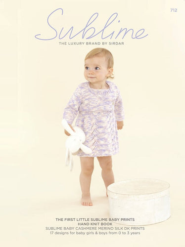 Sublime Booklet 712: 1st Baby Prints DK Book