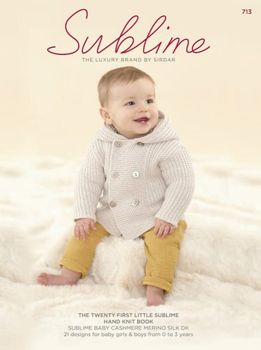 Sublime Booklet 713: 21st Baby Cashmere Merino Silk DK Book