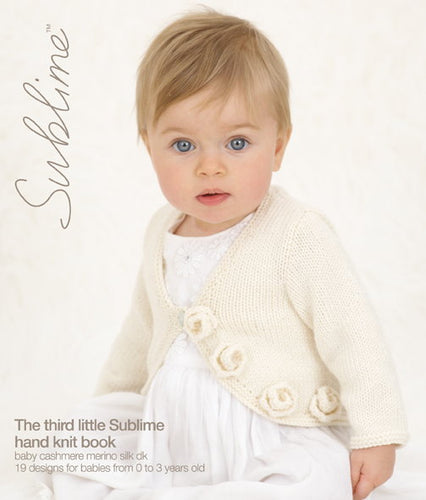 Sublime Booklet 612: 3rd Baby Cashmere Merino Silk DK Book