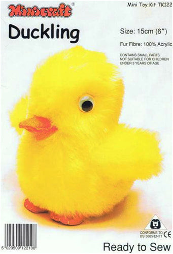 Minicraft Sewing Kit: TK122 Duckling