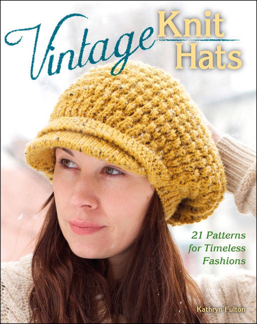 Vintage Knit Hats by Kathryn Fulton