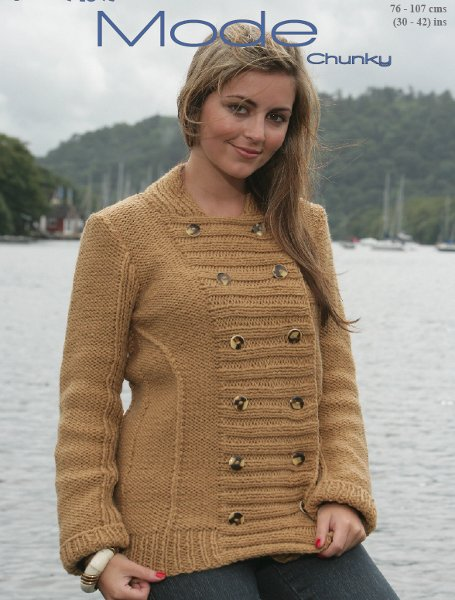 Wendy Pattern 5407: Jacket in Mode Chunky