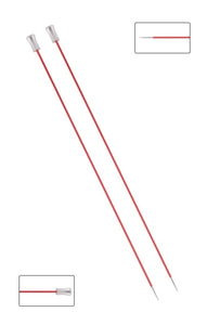 KP47231 Zing 25cm Single Pointed Knitting Needles: 2mm