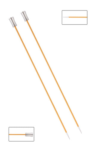 KP47262 Zing 30cm Single Pointed Knitting Needles: 2.25mm
