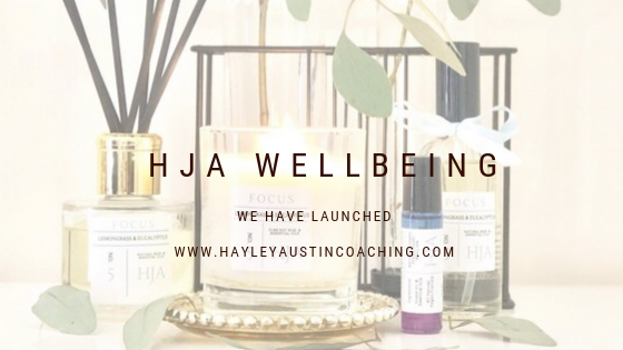 Product launch – My wellbeing range