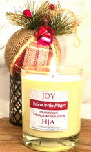 Load image into Gallery viewer, Christmas Joy 100% Soy Wax Candle