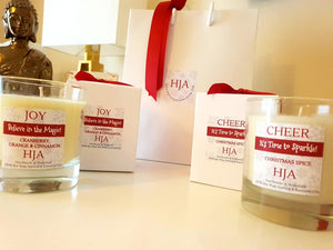 Christmas Cheer 100% Soy Wax Candle